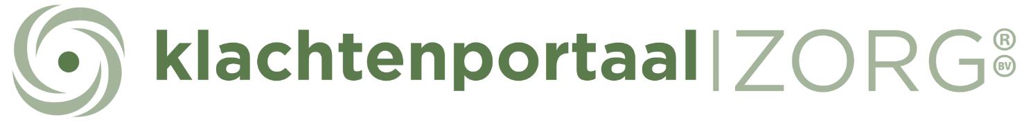 2021 Logo Klachtenportaal Zorg B.V.